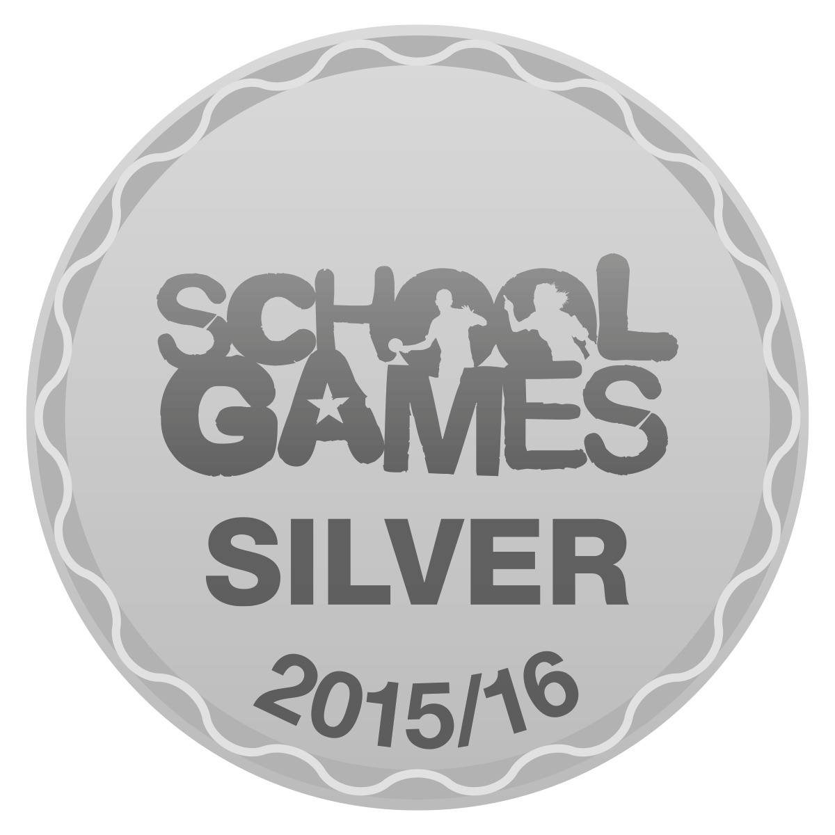 Sainsburys School Games Silver 2015/16
