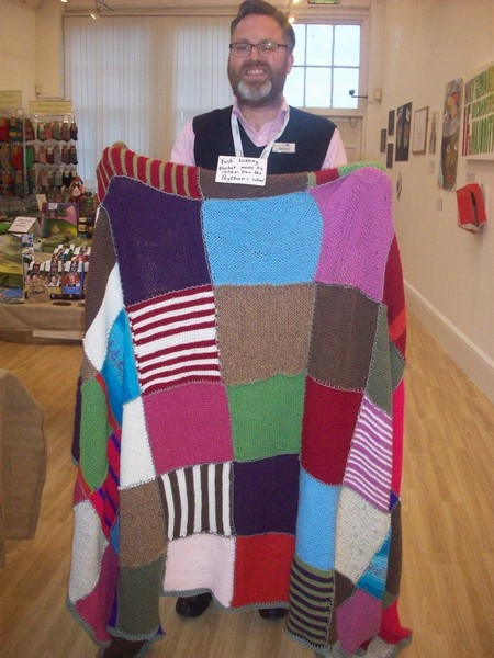 Oxfam Knitting Pattern For Blankets : Knitting Club s Blanket Sold At Oxfam Shop